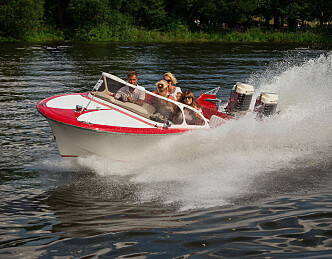 Båtrace med nostalgi