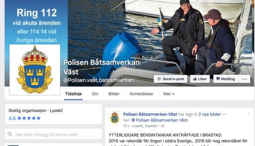 Løser båttyverier med Facebook