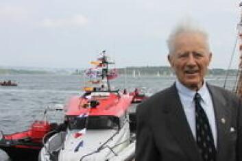 Hans Herman Horn ga bort redningsskøyte til 11 millioner kroner