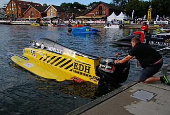 Fra nesten stryk til toppscore for Tønsberg Båtrace