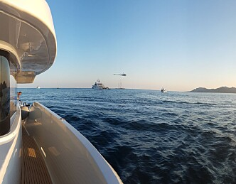 Bryggelangs på Cannes Boat Show