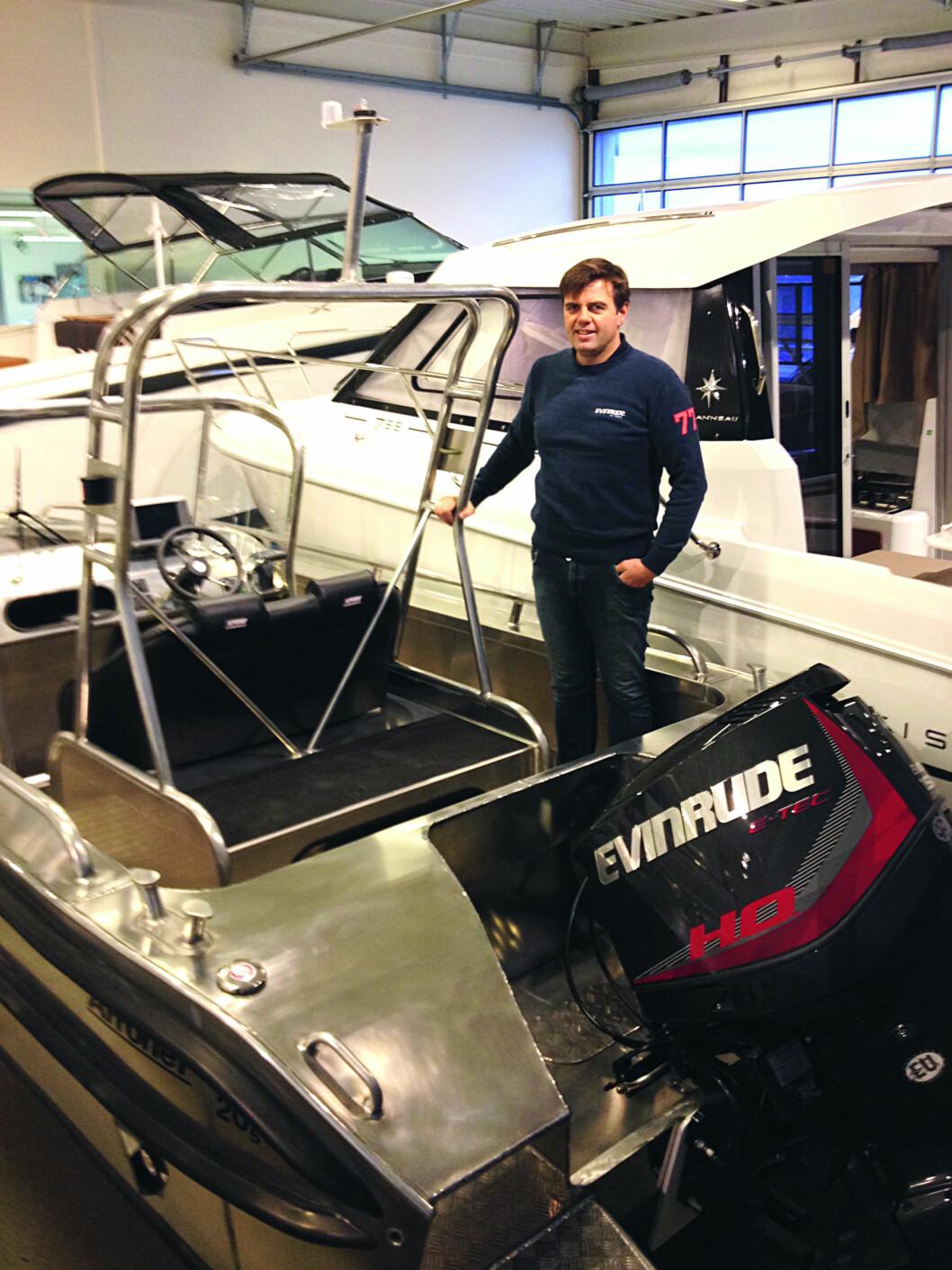 NED: Daglig leder Jarle Vikingstad i Smart Marine legger ned i Stavanger.