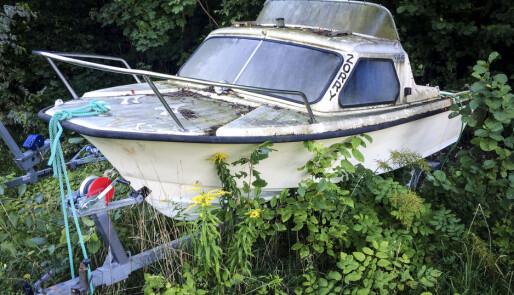 Årsavgift for skroting av båter
