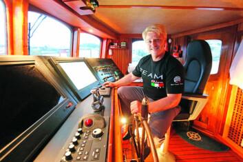 SELGES: Asbjørn Abrahamsen med Rivaen han kjøpte for åtte år siden.