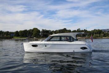 MILJØ: Bavaria E40 er laget for å bruke mindre drivstoff.