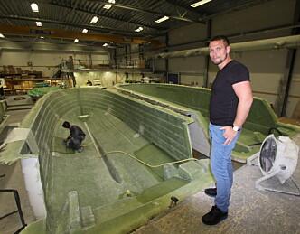 Bygger 80 båter i år