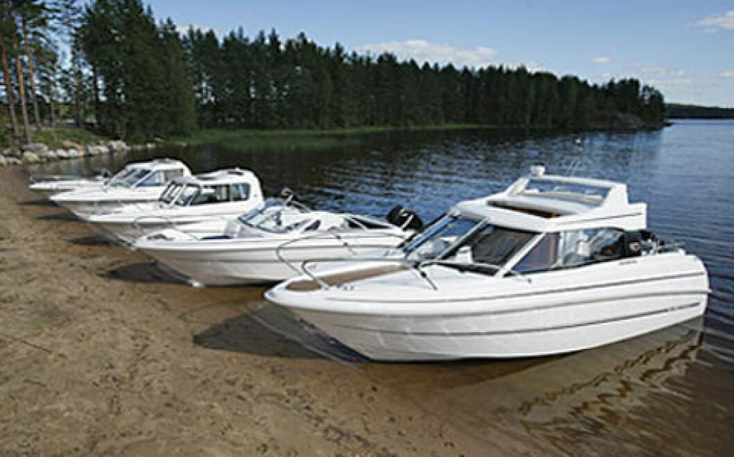 Brunswick skal selge MV-Marin i Norge