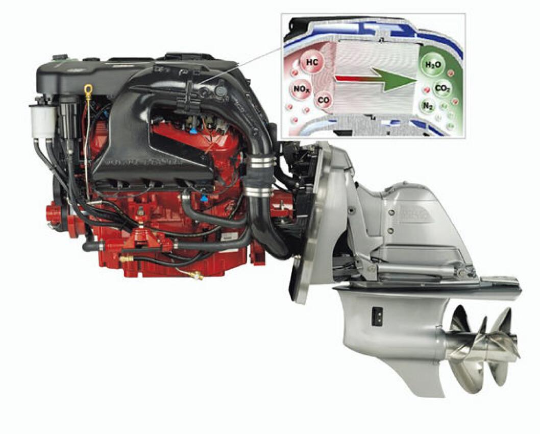 VP lanserer katalysator-motorer