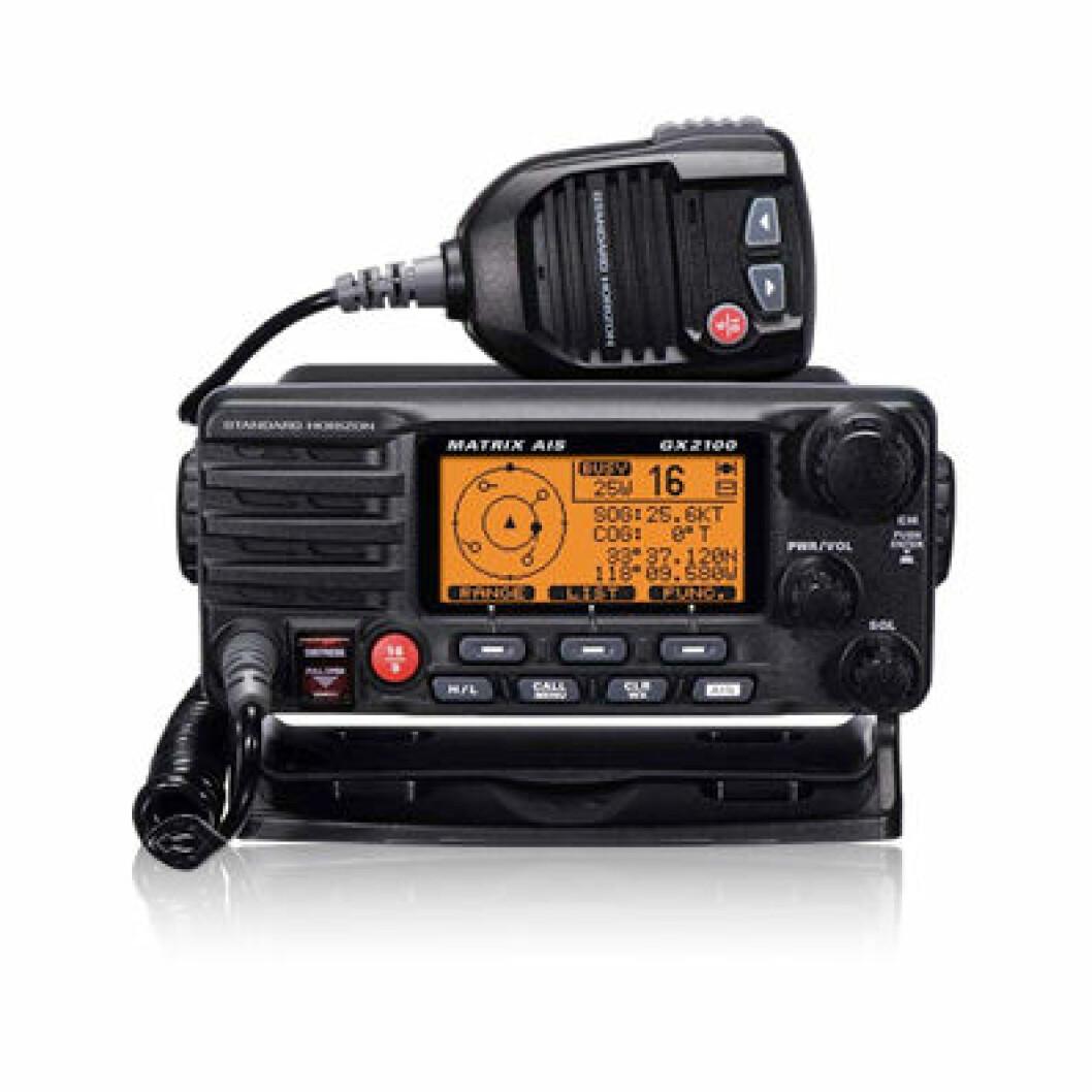 Nå kommer AIS-VHF'en
