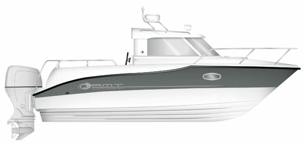 AMT spriter opp styrehusbåt-markedet