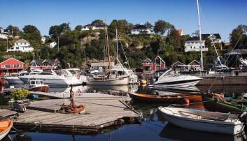 Gammelt handelssted for båtfolk