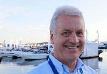 OPTIMIST: Daglig leder Leif Bergaas i Norboat tror urolige økonomiske tider kan gagne båtsalget.
