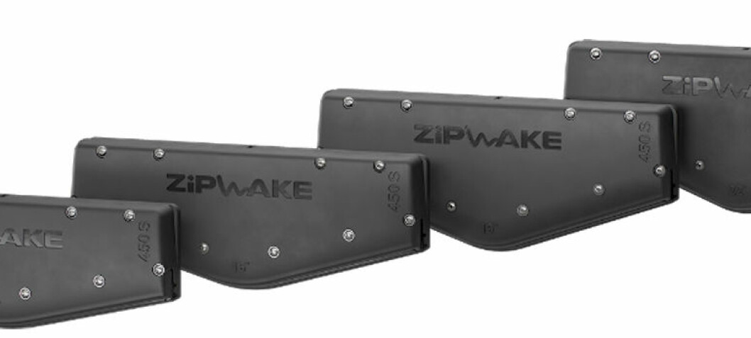 Zipwake for midtmontering