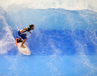 Prøv deg på surfbrett i Dusseldorf