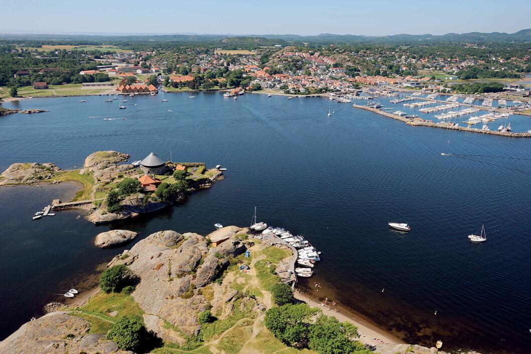 Stavernsøya med Citadelløya.