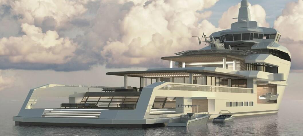 Vil bygge om supplyskip til superyacht