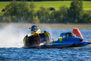 MOTOR OG FULL FART: Frode Sundsdal.