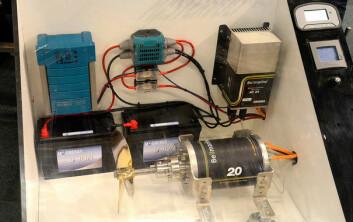 PAKKEN: Foruten elmotor så kreves det lader og styringsenhet.