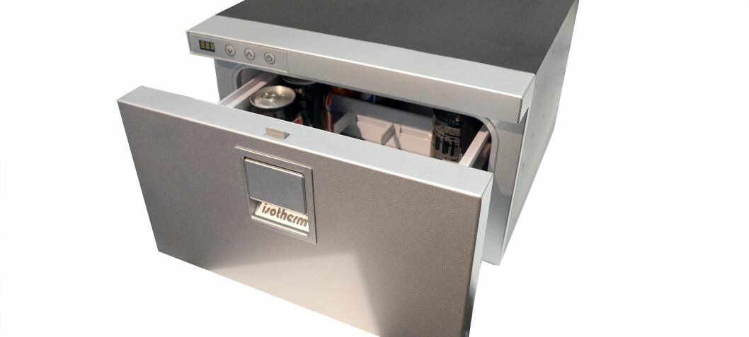Kompakt og strømsnill kjøleskuff