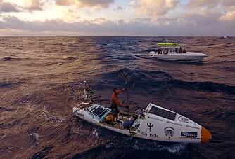 Krysset Atlanterhavet på 93 døgn på SUP