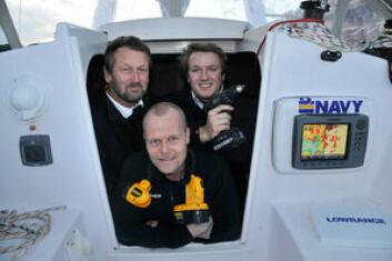 KOLLEGAER: Thomas Wiken og Gunnar Neslein er nå konkurrenter av Christoffer Thoresen, øverst til høyre.