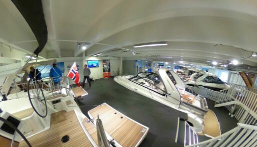 Se Storbåtmessen i 360