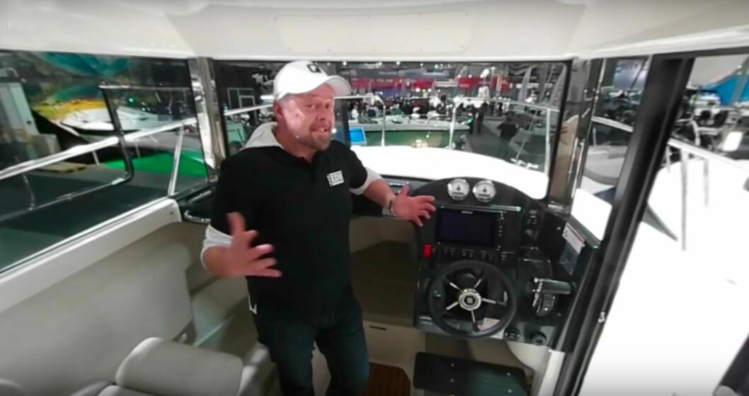 360-FILM: Asgeir Borgemoen om bord i Quicksilver 755 Pilothouse.