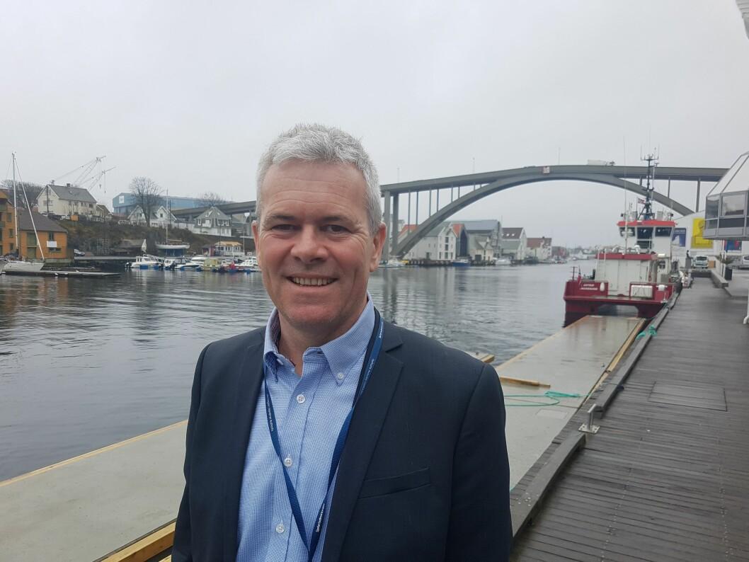 BEDRE KART I VENTE: Trond Langemyr i sikkerhetavdelingen i Kystverket.