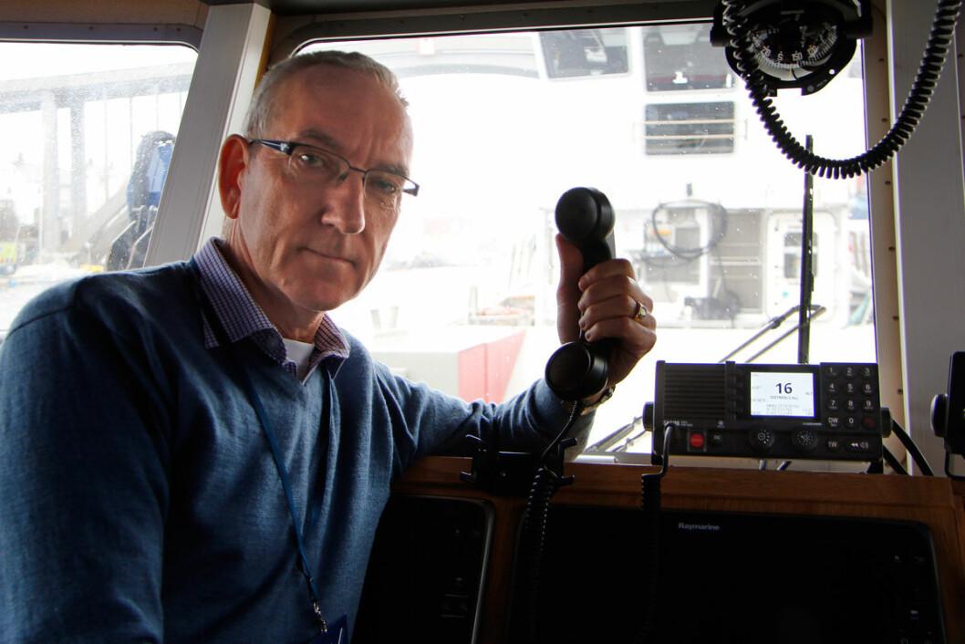 BEKYMRET: Redningsleder Nils Ole Sunde ved Hovedredningssentralen.