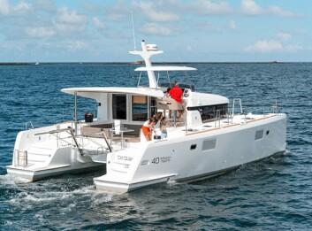 MOTOR: Lagoon 40MY er samme båt som Lagoon 39, men uten mast.