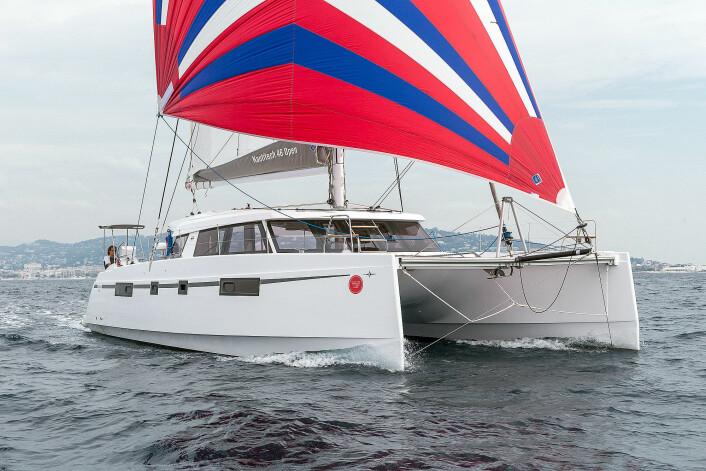NOMINERT: Bavaria 46 Open er nominert til Årets Båt i Europa i klassen for flerskrogsbåter. Båten ble testet av juryen i Cannes i september.