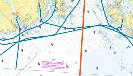 Bølgevarsel for hele kysten