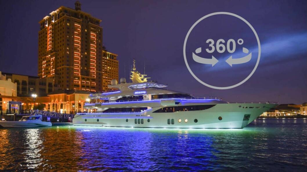 SE DEG RUNDT: Med vår nye 360-visning kan du se bevege deg rundt i Majesty 155 som er månedens båt i Båtliv nummer 3 2017.