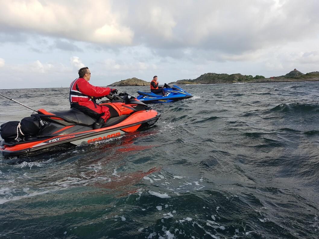 MINDRE KRIMINELT: Nå er vannscootere stort sett likestilt med den øvrige fritidsbåtflåten.