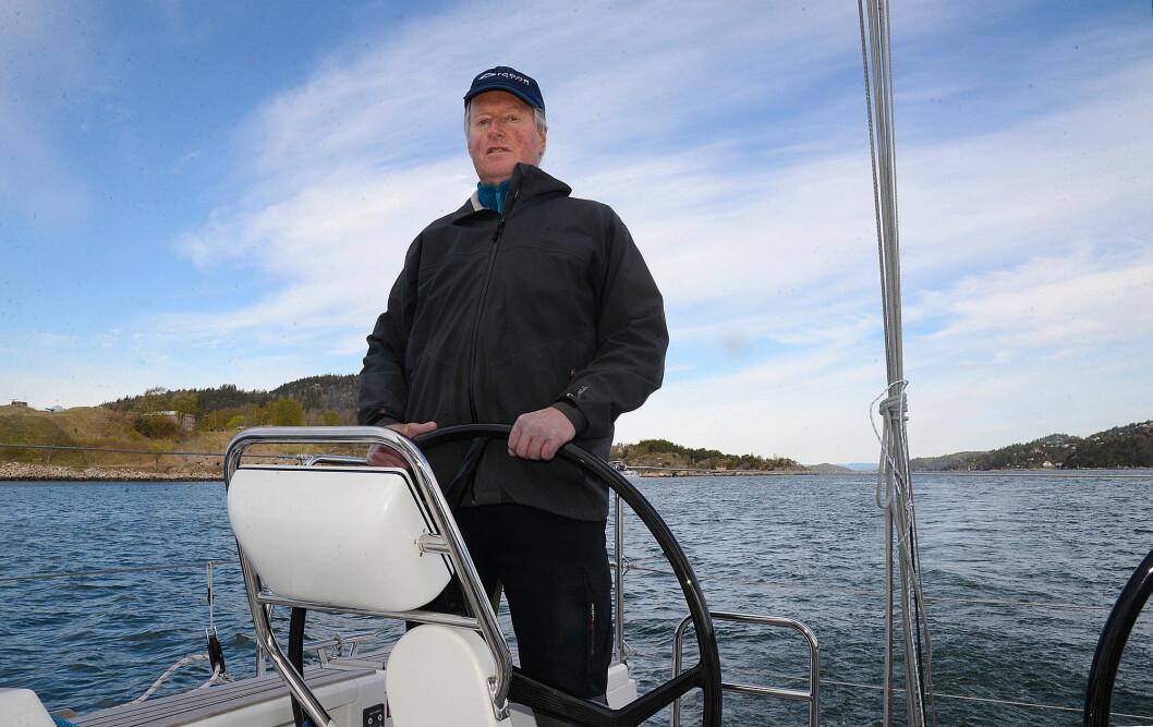 LEDER: -Henrik Torgersen har tatt initiativet til Elbåtforeningen og er leder.