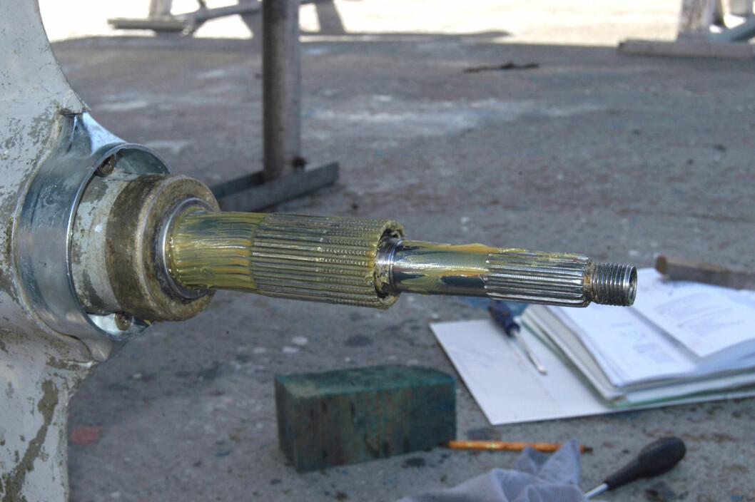 STRIDENS KJERNE: Var propellakselen skjev før eller etter salget?