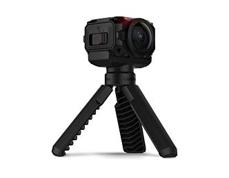 Kameraet er vanntett og har 360-graders opptak