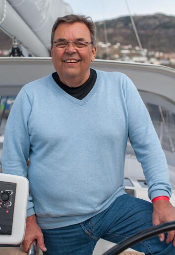 ERFARING: Langturseiler Åge Finckenhagen mener at sjøfartsdirektør Olav Akselsen tar feil.