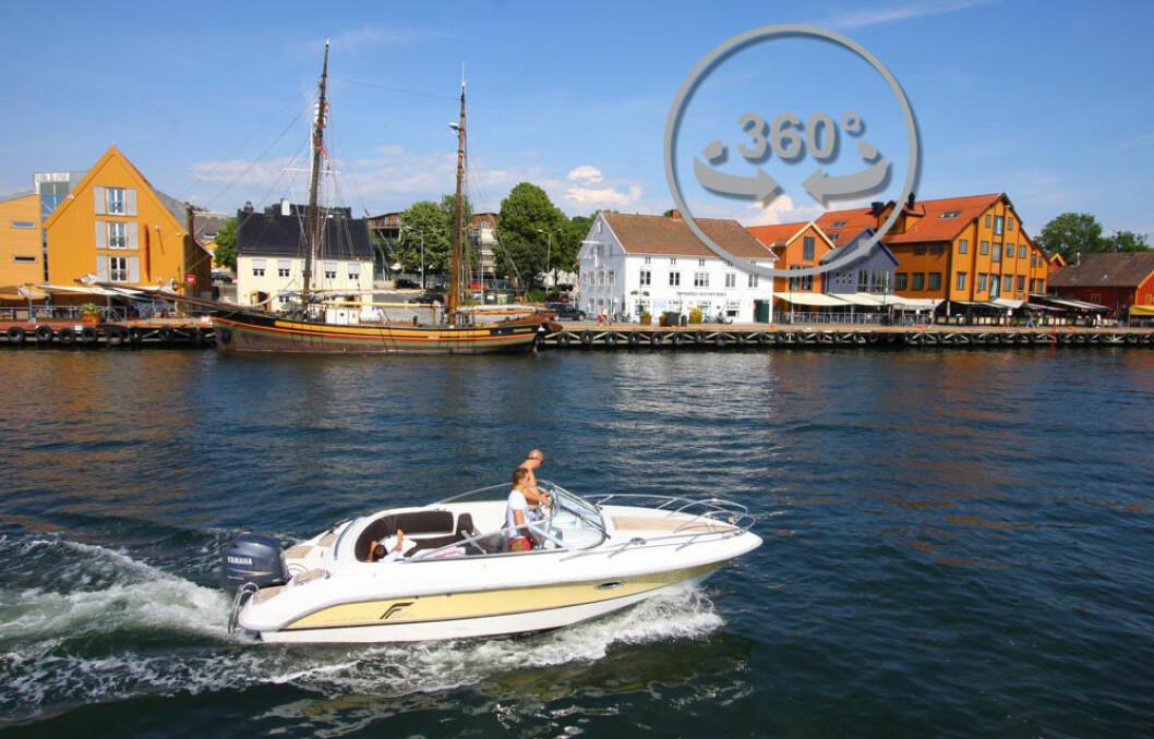 KLIKK DEG RUNDT: Nederst i artikkelen kan du klikke deg rundt i Tønsberg og se deg rundt 360 grader.