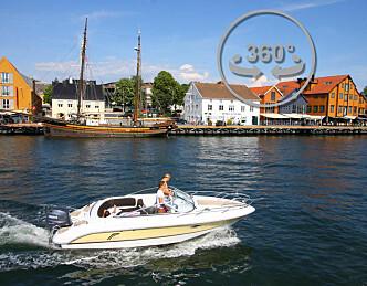 Klikk deg rundt på Brygga i Tønsberg