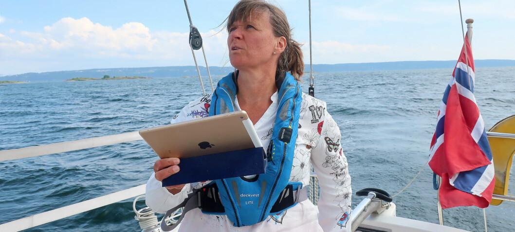 På fjorden med navigasjonsappen Embark