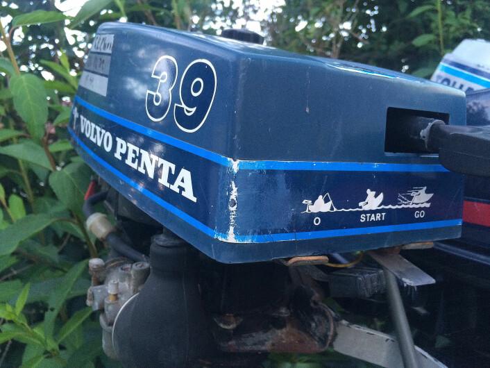 70-TALLET: Påhengerne fra Volvo Penta ble utkonkurrert av de japanske på 70-tallet.