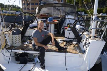 VENNER: Andre Ugland ble kjent med den norske langturseileren mens de begge seilte til Kanariøyene i 2015. De har boldt kontakt siden.