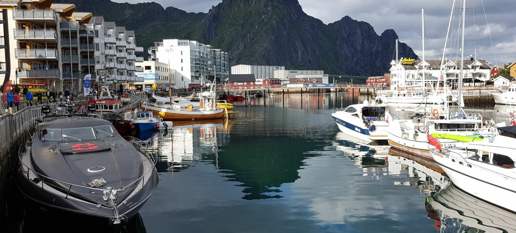 Luksusbåtene møtes i Svolvær