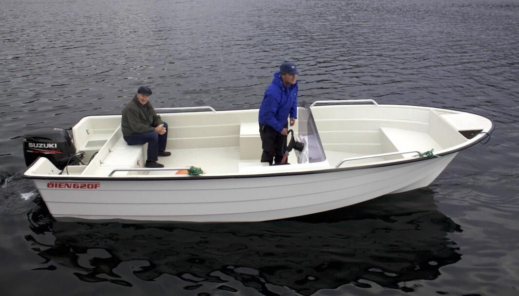 POPULÆR: Øien F 620 er en 20 fots halvplaner med kjøl som bygges i Nordfjord, og båten selger bra i Nordland.