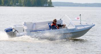 GAMMELT OG NYTT: Merino Mustang er en ekte retro-båt med gode fartsressurser og fine kjøreegenskaper. El-drift er derimot noe helt nytt.