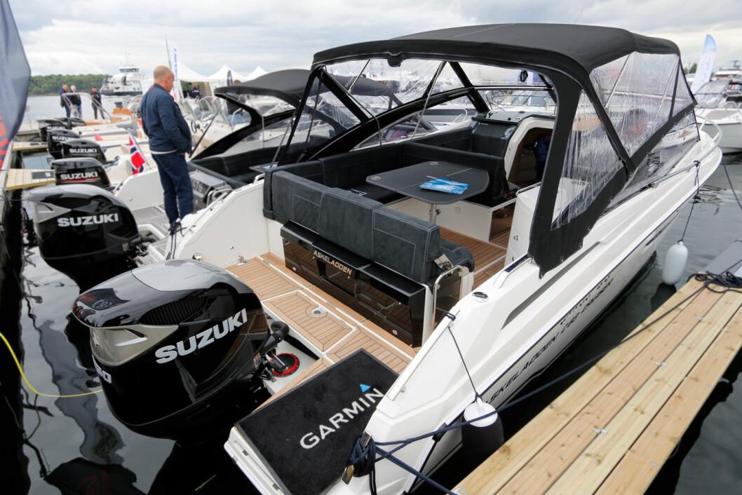 NY DAYCRUISER: Askeladden C83 premierevises på Båter i Sjøen.