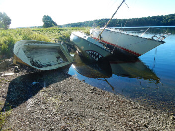 HÅNDVERK: Store båter er en hodepine. Løsningen er å betale noen å gjøre jobben.