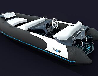 Jolle til båten med teknologi fra BMW
