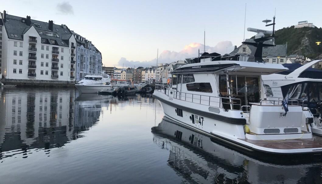 NY IMPORTØR: Tysse Maritim er ny importør av Nord Star på Vestlandet .
